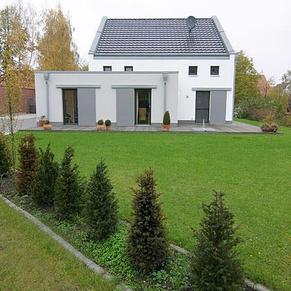 einfamilienhaus ii outside architekturb ro ulrike bu mann dipl ing architektin. Black Bedroom Furniture Sets. Home Design Ideas